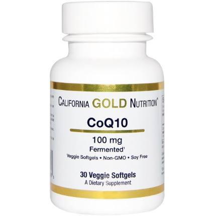 Q 10 100 mg 30 caps California Gold Nutrition