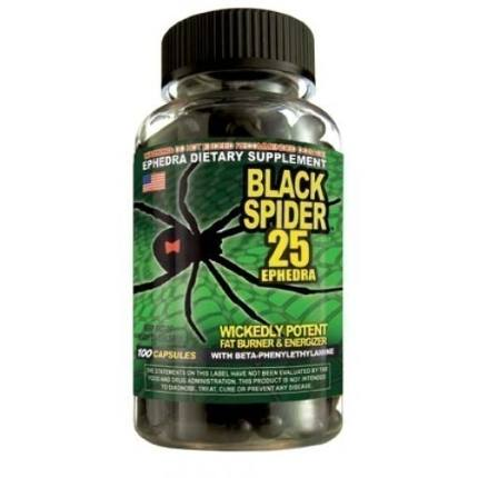 Black spider (100 caps) Cloma Pharma