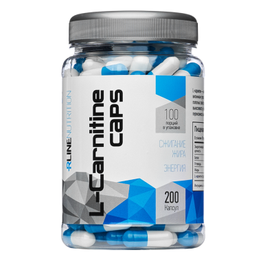 L-Carnitine 200 caps RLINE