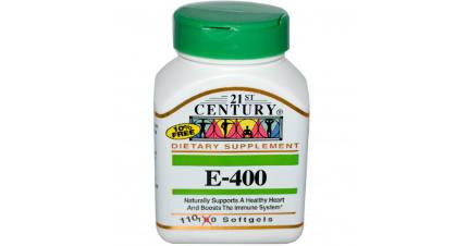 Vitamin E 110 tab 21St Century