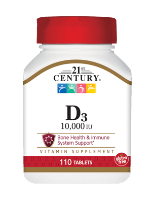 D3-10,000 110 tab 21St Century