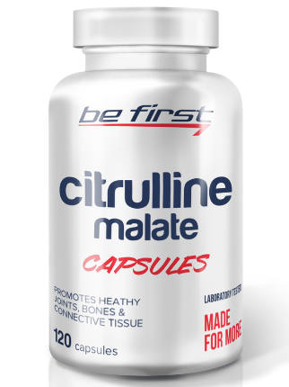 Citruline malate 120 caps Be First