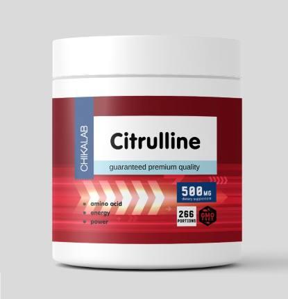 Комплексная пищевая добавка Цитруллин 200 гр CHIKALAB