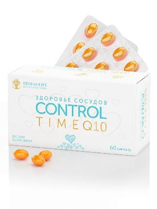 LIFE Control Time Q10 100% 60 капсул TREE OF LIFE
