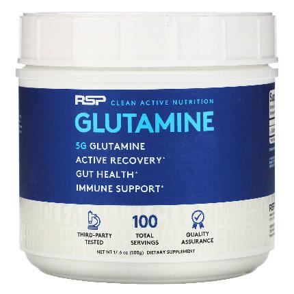 Glutamine 500 гр RSP Nutrition