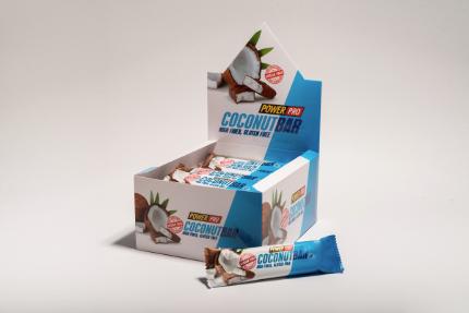 Батончик без сахара в шоколаде 50 гр Power Pro