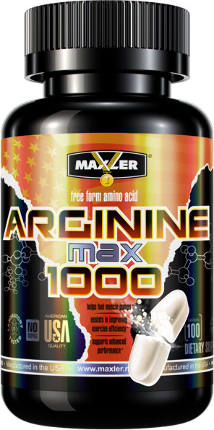 Arginine 100 tabs MAXLER