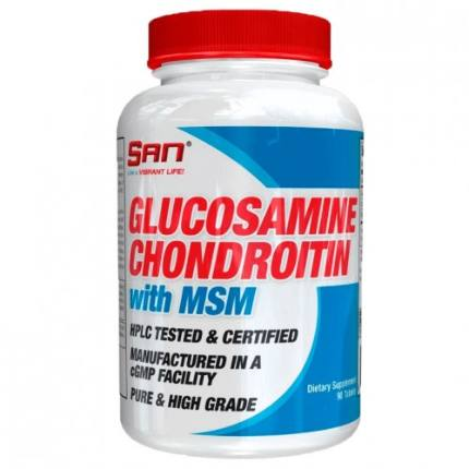 Glucosamine Chondroitine MSM (90 tab) SAN