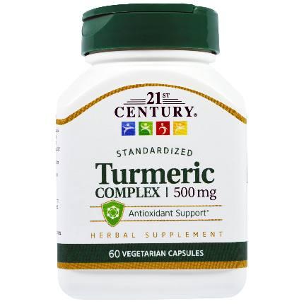 Turmeric complex 500 mg 21St Century