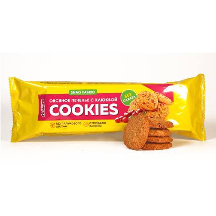 Печенье овсяное 180 гр х 9 SNAQ FABRIQ