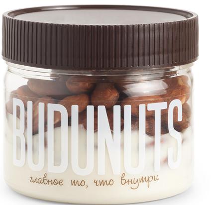 Десерт ореховый BUDUNUTS Миндаль в шоколаде 230 г