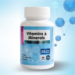 Комплексная пищевая добавка Витамакс 60 капсул CHIKALAB