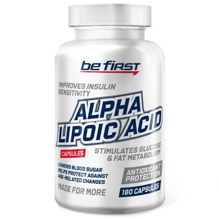 Alpha Lipoic Acid 180 caps Be First