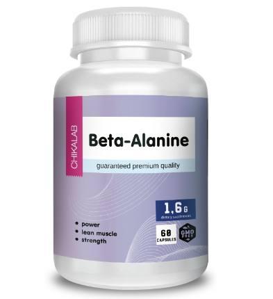 Комплексная пищевая добавка Бета-Аланин 60 капс CHIKALAB