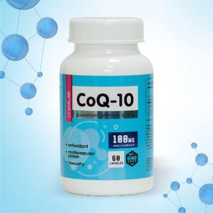Коэнзим Q10 100 мг 60 капсул CHIKALAB