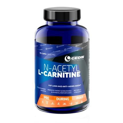 N-Ацетил-Л-картинин 75 капс по 600 мг GEON
