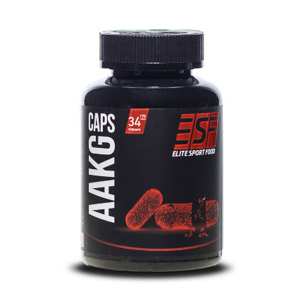 AAKG caps Elite Sport Food