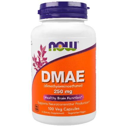 DMAE 250 mg 100 caps NOW