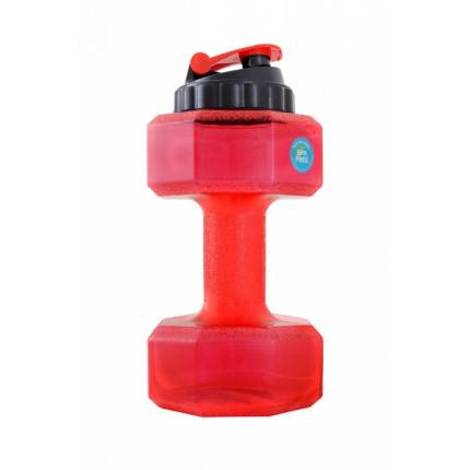 Бутылка-гантеля для воды БЕЗ ЛОГОТИПА 2200 мл Be First