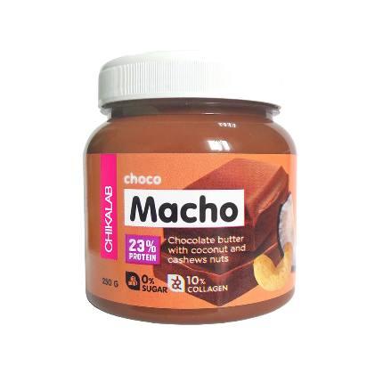 Паста шоколадная с кокосом и кешью (МАЧО) 250 гр./12 CHIKALAB
