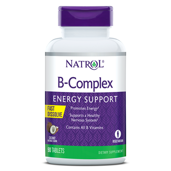 B-complex Coconut 90 tab NATROL
