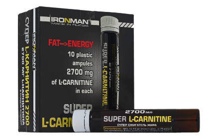 L- Карнитин 1500 25мл IRONMAN