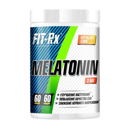 Melatonin 3 mg 60 caps FIT-Rx