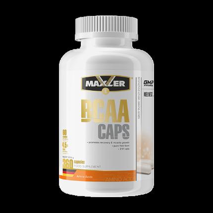 BCAA 360 caps MAXLER