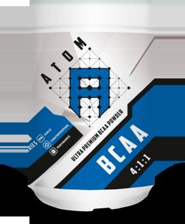 BCAA 4:1:1 ULTRA PREMIUM BCAA POWDER банка 500 г Atom Nutrition
