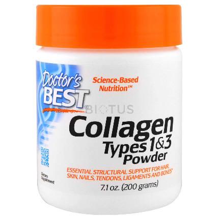Collagen Types 1 and 3, 200 gr Doctors Best
