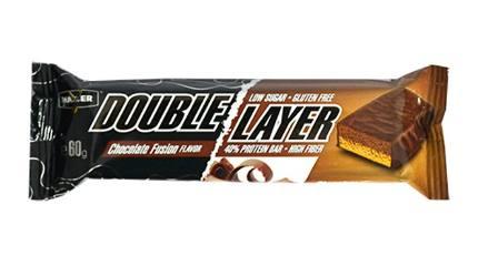 Батончик Double Layer Bar 60 gr MAXLER