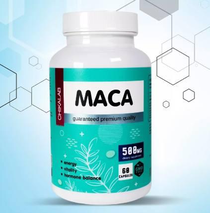 Комплексная пищевая добавка MACA 60 капс CHIKALAB