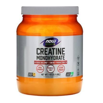 Creatine monohydrate 1000 g NOW