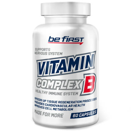 Vitamin B-Complex 60 caps Be First