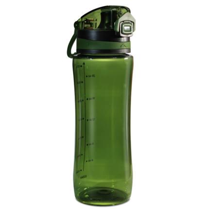 Бутылка для воды БЕЗ ЛОГОТИПА 800 мл ТРИТАН хаки Be First