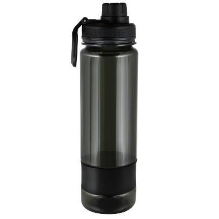 Бутылка для воды БЕЗ ЛОГОТИПА 900 мл ТРИТАН черная Be First