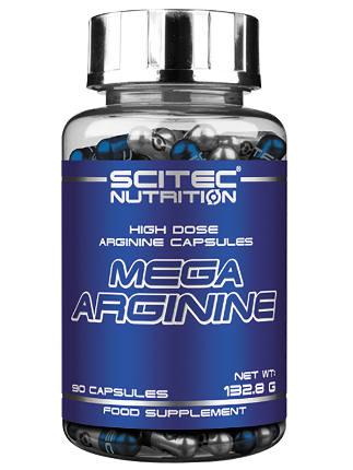 Mega Arginine 90 caps SciTec