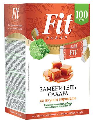 ФитПарад №17 со вкусом карамели 50 г - 100 шт СТИКИ