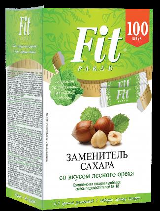 ФитПарад №17 со вкусом лесной орех 50 г - 100 шт СТИКИ