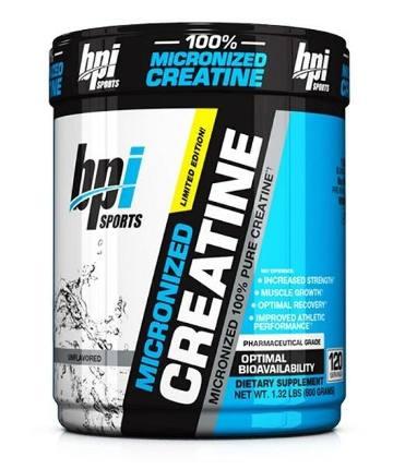 Micronized creatine 600 гр BPI sport