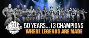 Все чемпионы Олимпии за последние 53 года
